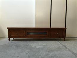 Mobile base porta TV in legno classico contemporaneo