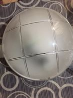 Plafoniere - plastica + vetro