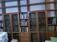 Libreria in noce lunga 3.50 x p 38