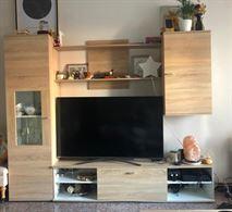 Parete attrezzata TV soggiorno
