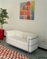 Divano design LC2 2 posti bianco