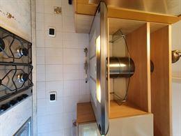 Cucina laccata completa di elettrodomestici e tavolo+3 sedie