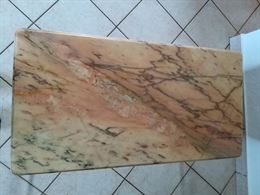 Tavolino marmo e bronzo