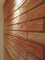 Pannelli di rivestimento per interni effetto mattone