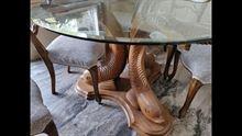 Tavolo tondo con 6 sedie