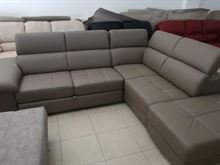Divani letto chaise longue con pouf contenitore