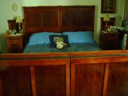 Camera da letto stile liberty