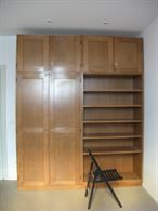Armadio libreria in legno