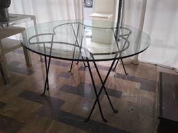 Tavolo in cristallo design