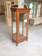 Vetrina / Vetrinetta in legno classica contemporanea