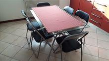 Tavolo in vetro + 8 sedie