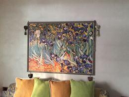 Stampa Riprod. 'Iris' di Van Gogh