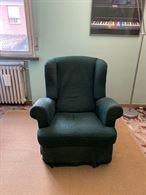 Salotto con divano 3 posti e poltrona reclinabile