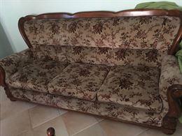 Salotto - divano + poltrone + tavolino