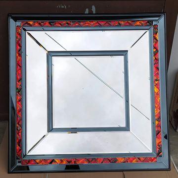 Grande specchio molato