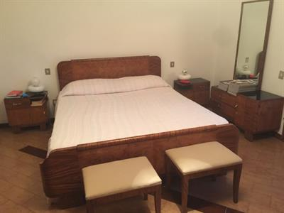 Camera da letto in radica di noce anni 50'