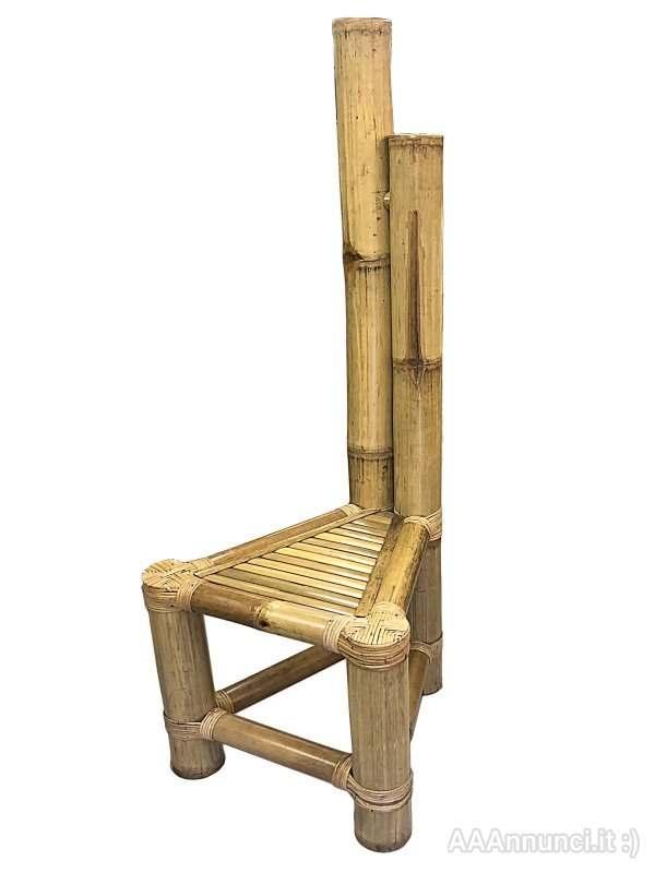 Sedia Steven in Bambù In vendita a Milano - Lombardia