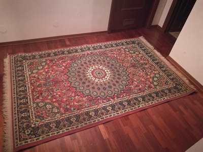 Tappeto persiano da sala fine anni '80