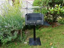 Barbecue con Griglia Regolabile