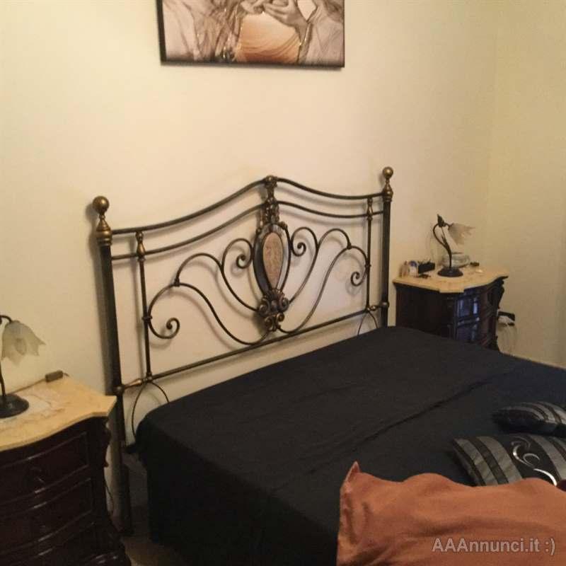 Camera da letto completa, in legno - Caltanissetta - Sicilia