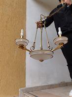 Lampadario Vetro Murano originale