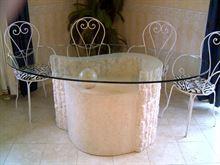 Base Tavolo in pietra con specchio