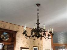 Coppia lampadari in stile