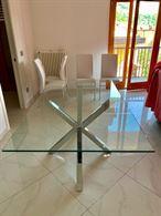 Tavolo in vetro temperato nuovo