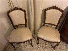 Credenza, tavolo e sedie classiche legno massello
