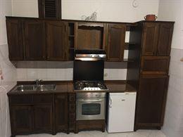 Cucina completa noce legno massello