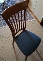 4 sedie in legno essenza rovere ottimo