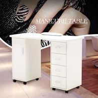 BarberPub Manicure Acetone Resistant Table 6153-0611