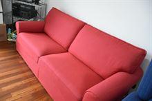 Divano letto rosso Poltrone e sofà