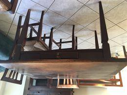Tavolo in legno massiccio (Minerbio - BO)