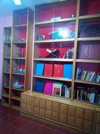 Libreria in legno massello di frassino