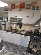 Cucina angolare completa di elettrodomestici