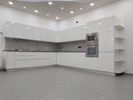 Cucina moderna artigianale bianca