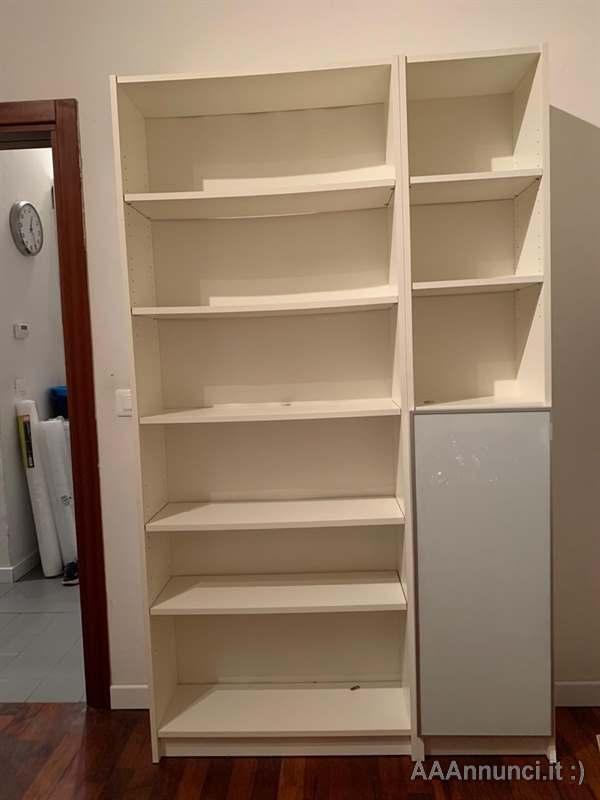 Bianco Ikea Billy Libreria 40x40x202 cm
