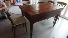 S tavolo antico allungabile